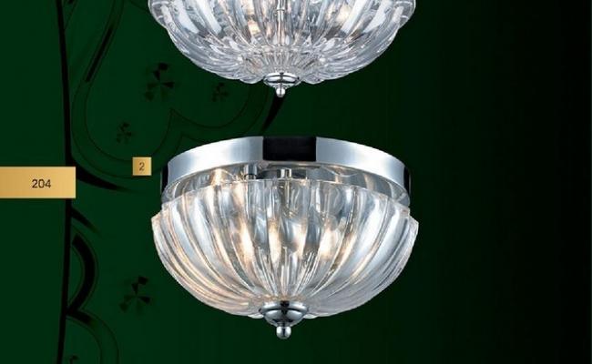 Светильники N-Light наборный хрусталь